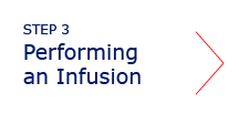 Performing an Infusion tab